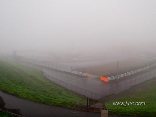 2010 Super Taikyu Round 4 Fuji - Fog