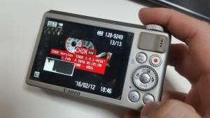 Canon PowerShot S100 running CHDK